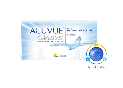 ACUVUE® OASYS® with HYDRACLEAR® Plus - Optic Butler