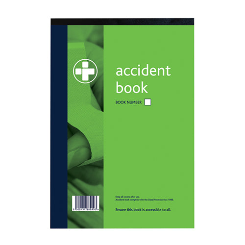 Accident Books A4 Pack Of 5 With 40 Detailed Pages