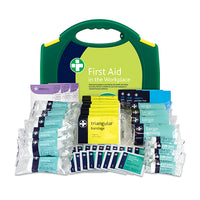 Workplace First Aid Kit – HSE Compliant 130 Pieces