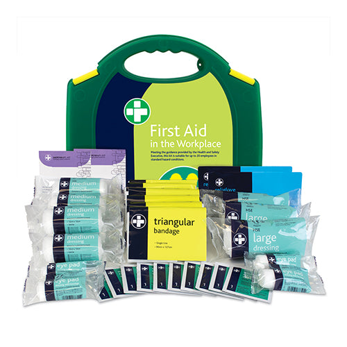 Workplace First Aid Kit – HSE Compliant 85 Pieces