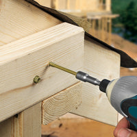 Timber Screws - Hex - Exterior - Green