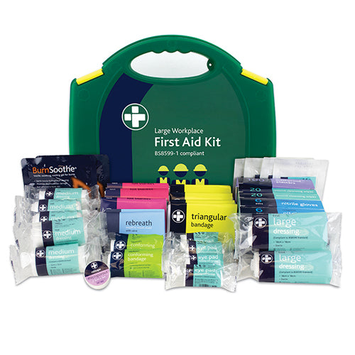 Workplace First Aid Kit - British Standard Compliant 210 Pieces