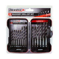 Masonry Drill Bit Set 15pc