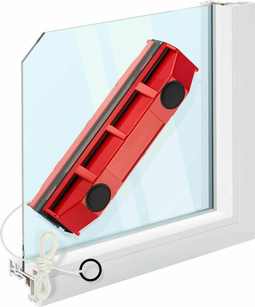 Double Sided Magnetic Glass Wiper Cleaning Brush Sturdy Safe Window Cleaner