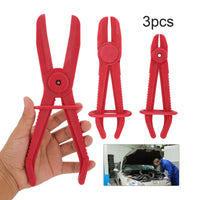 3Pc hose clamp set Nylon Flexible Clamping Radiator Brake Tool Locking Plier