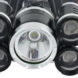 Strong Head Torch LED Headlamp Rechargeable Headlight Lamp Flashlight Waterproof