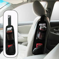 Car Seat Side Pocket Storage Organiser Collector Hanging Bag Pouch