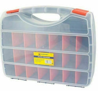21 Compartment Tool Bits storage Organiser Case