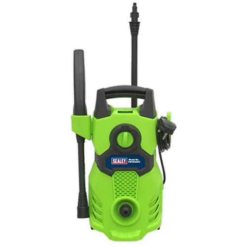 Sealey Jet Pressure Washer 1400W 105Bar Ideal for Patios And Cars 230V