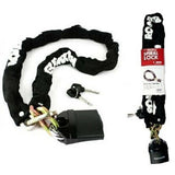 0.9M CHAIN LOCK BIKE BICYCLE HEAVY DUTY SECURITY PADLOCK MOTORCYCLE MOTORBIKE