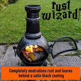 Heat Proof Black Paint Metal BBQ Stoves Log Burners