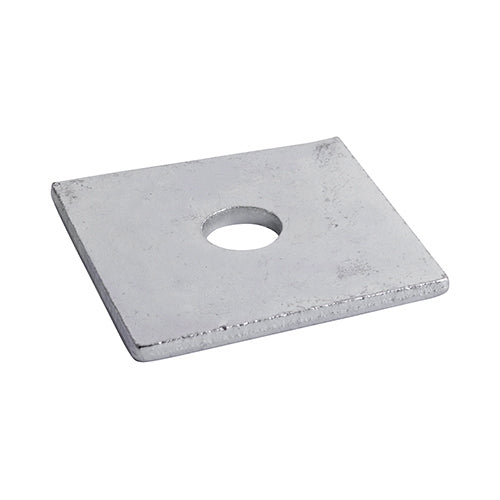 Square Plate Washers - Hot Dipped Galvanised