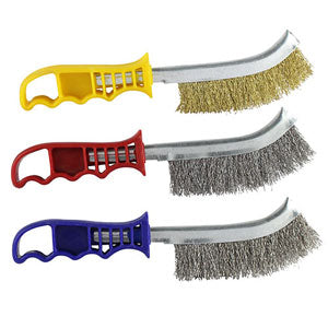 Wire Hand Brushes Choice Of Materials Brass Stainless Steel & Carbon Steel