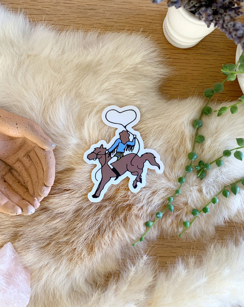 RODEO SWEETHEART STICKER