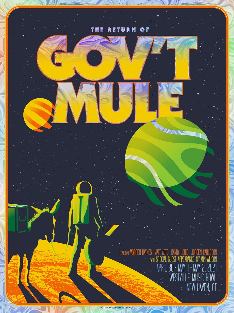 Gov't Mule Event Poster