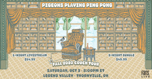 Pigeons Playing Ping Pong | SAT, OCT 3