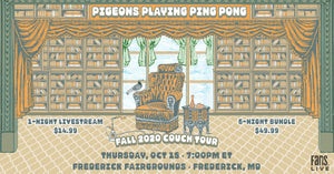 Pigeons Playing Ping Pong | THU, OCT 15