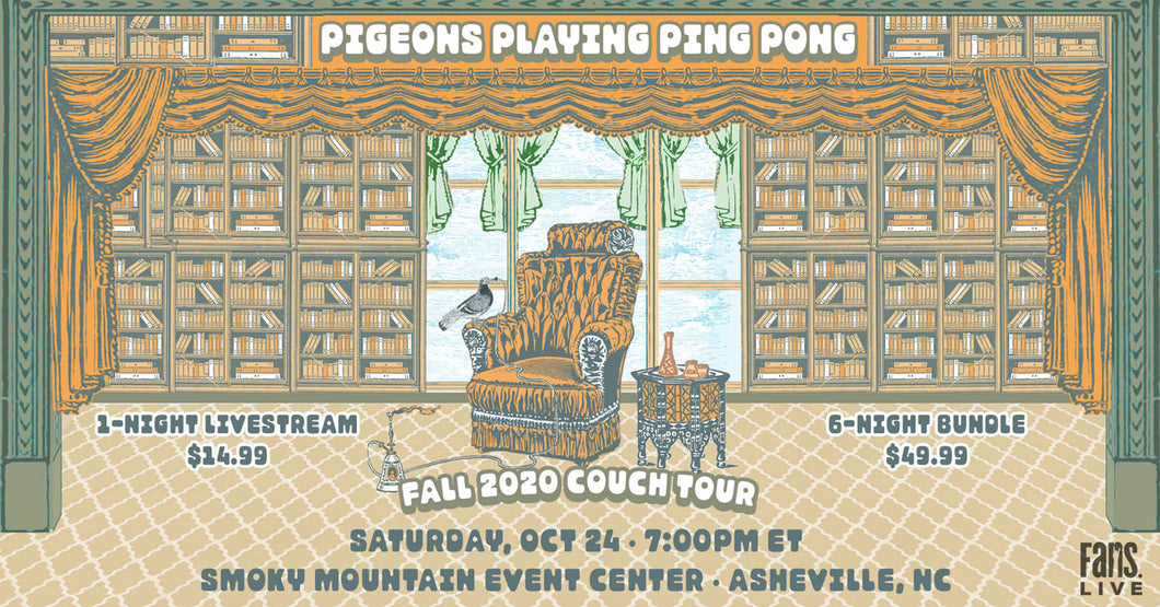 Pigeons Playing Ping Pong | SAT, OCT 24