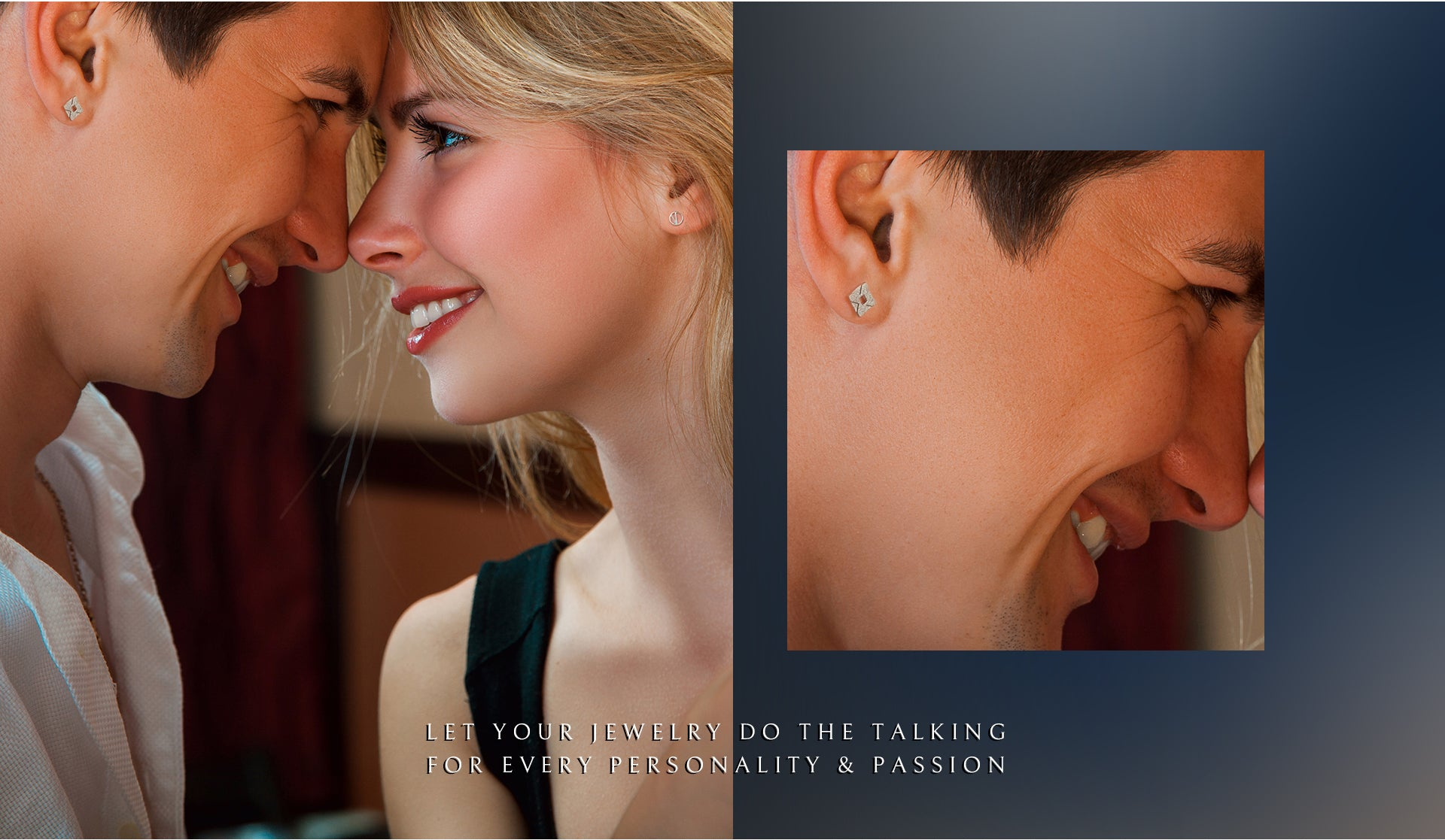 let your jewelry do the talking