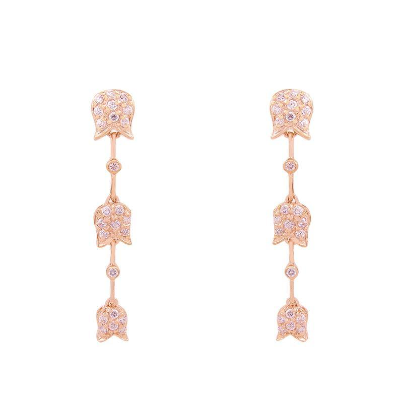 AWNL Lily of the Valley III ER Rose Gold - AWNLJEWELS