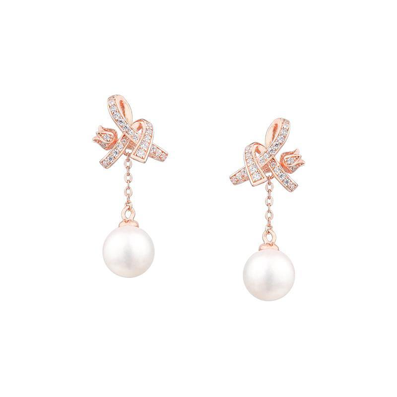 AWNL Lily of the Valley V ER Rose Gold - AWNLJEWELS