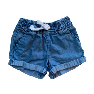 Blue Carters Shorts, 6 Months