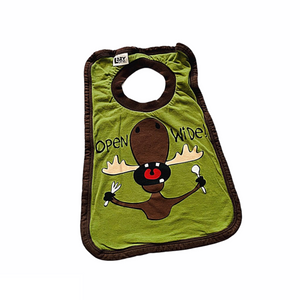 Green Lazy One Bib