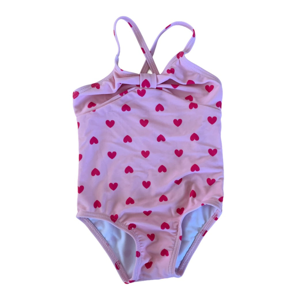 Pink Joe Fresh Swimsuit, 6-12 Months