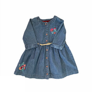 Blue Carters Dress, 18 Months