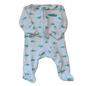 White Carters Sleeper, Newborn