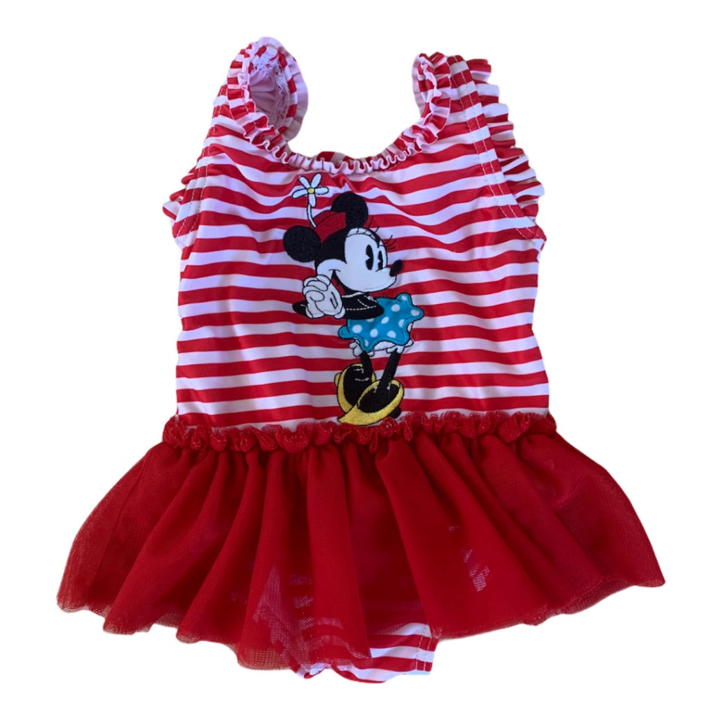 Red Disney Swimsuit, 6-9 Months