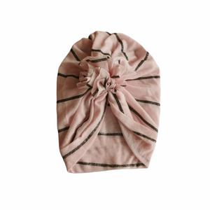 Pink Unknown Baby Turban, 6-12 Months