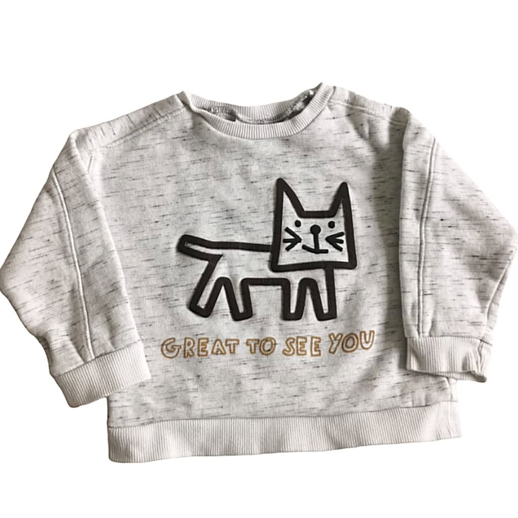 Grey Zara Sweater, 12-18 Months