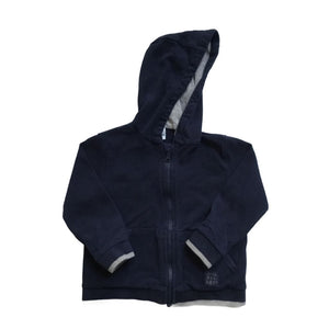 Navy Blue Zara Zip-up, 18-24 Months