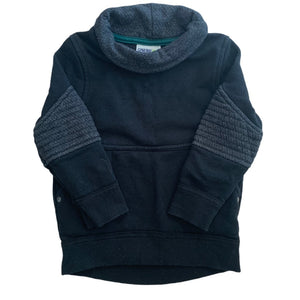 Black Genuine Kids Sweater, 2 Years
