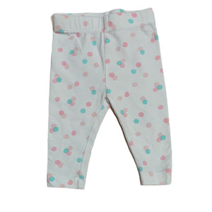 White Joe Fresh Leggings, 3-6 Months