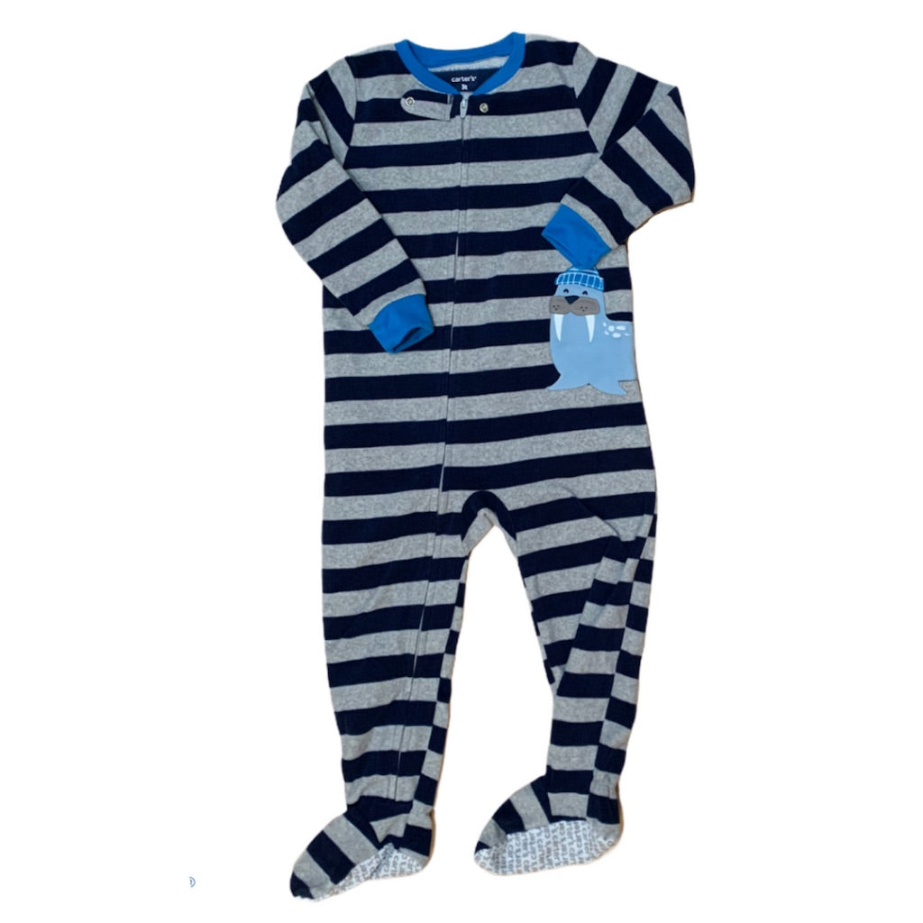 Striped Carters Sleeper, 2 Years