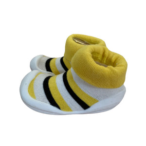 Yellow Go Shins Booties, 5.5