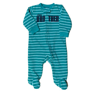 Green Carters Fleece Sleeper, 6 Months