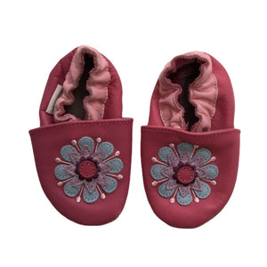Pink Robeez Shoes, 0-6 Months