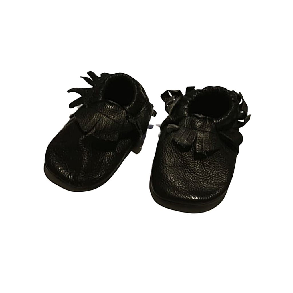 Black Minimoc Shoes, 5