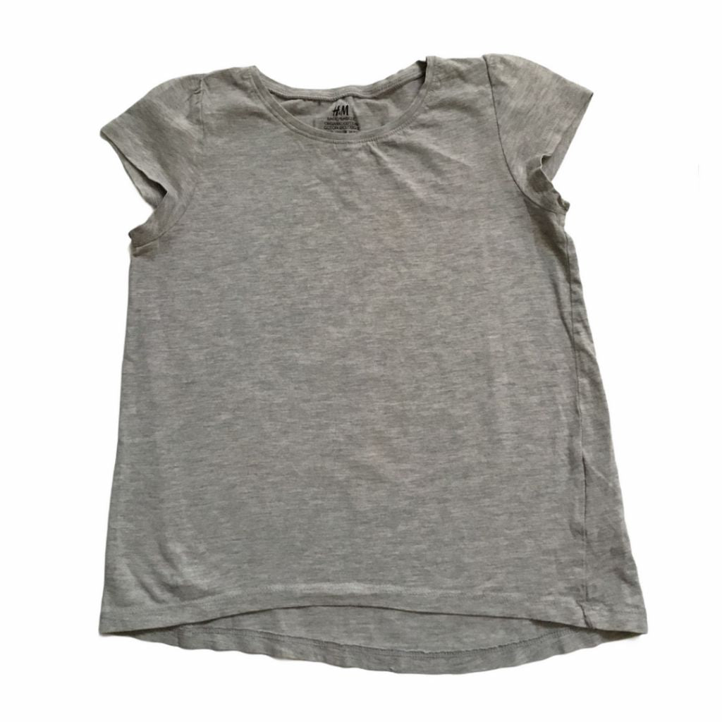 Grey H&M T-Shirt, 6-8 Years