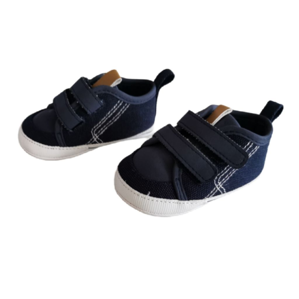 Navy Blue Carters Shoes, 0-3 Months
