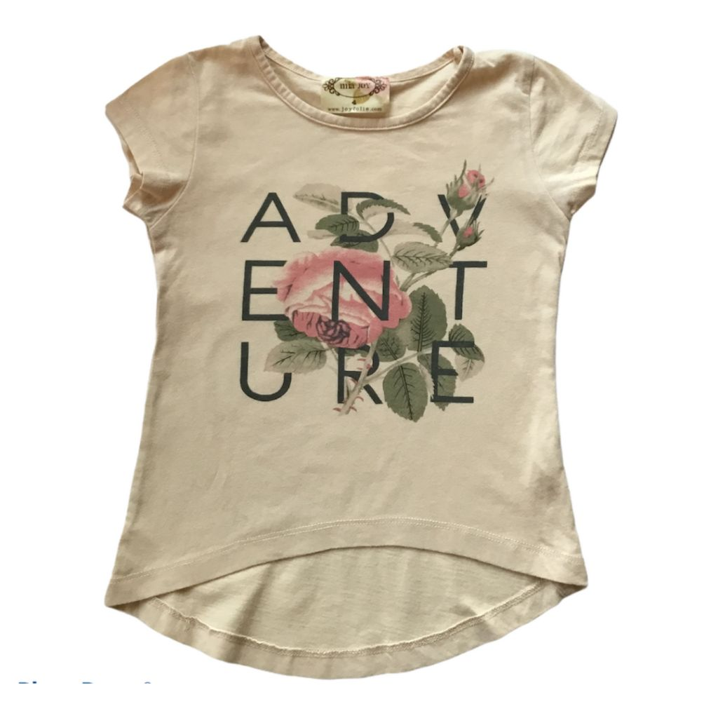 Cream Mia Joy T-Shirt, 4 Years