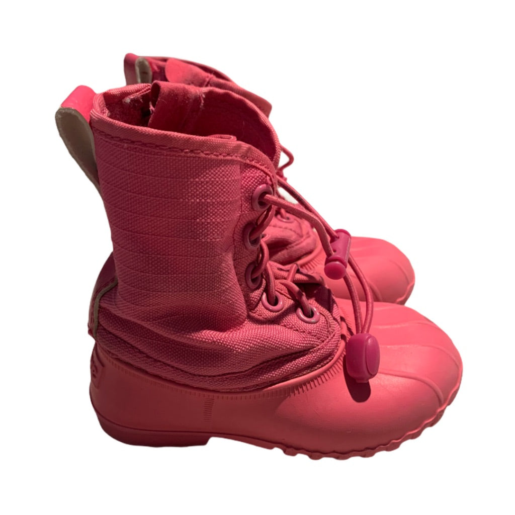 Pink Native Shoes Boots, 5