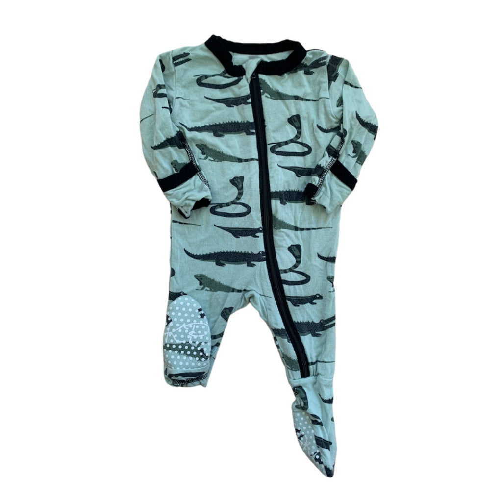 Green KicKee Pants Sleeper, Newborn