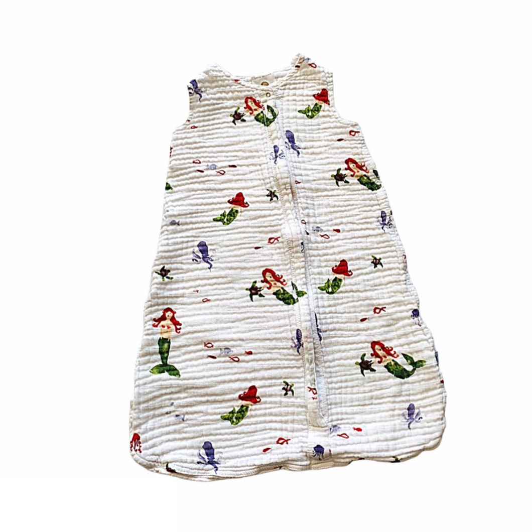 White Little Unicorn Sleep Sac, 0-6 Months