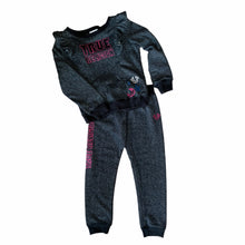 Load image into Gallery viewer, Dark Grey True Religion Sweater & Sweatpants, 6 Years