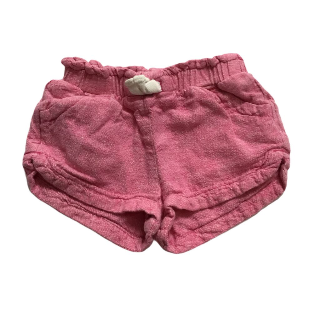 Pink Unknown Shorts, 12-18 Months