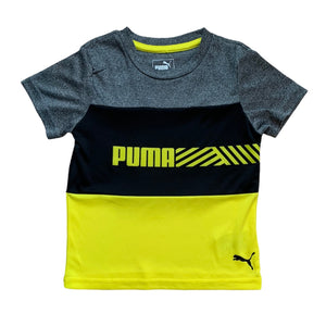 Yellow Puma T-Shirt, 4 Years